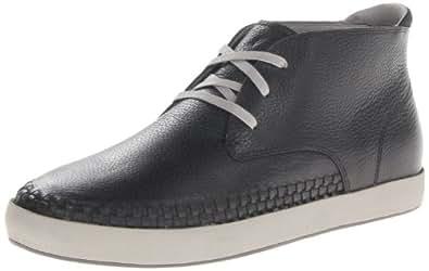 TSUBO Men's Adan Woven Chukka Boot,Black,7 M US