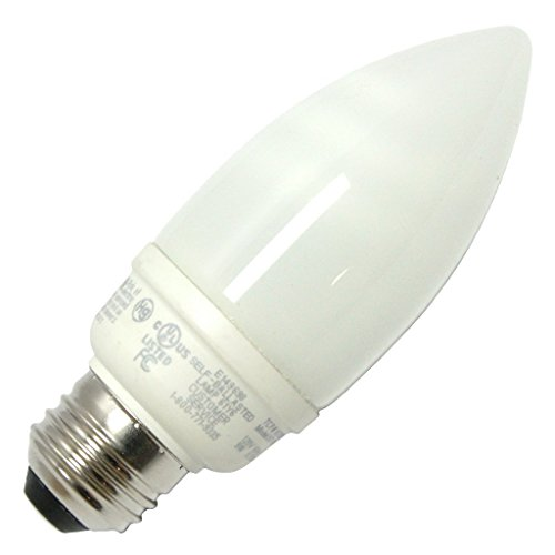 (12-Pack) TCP 10709 9-Watt 2700K E26 Base CFL Decorative Torpedo Lamp, 40W (Decorative Cfl)