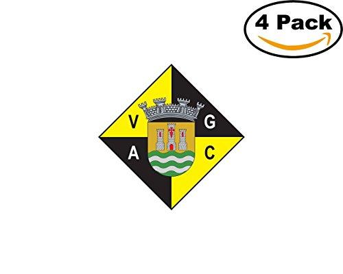 fan products of Vasco da Gama AC Sines Portugal Football Club Soccer FC 4 Sticker Decal 4X4