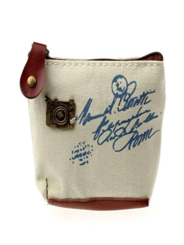 Rakkiss Womens Wallet Girl Retro Coin Purse Wallet Card Case Handbag Gift Eiffel Tower Bag (B) (Bags Miu Designer Miu)