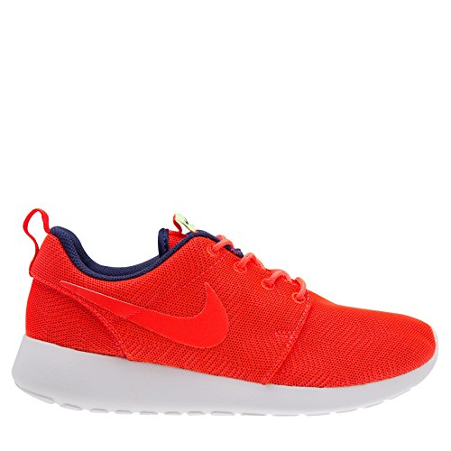 Womens Nike Roshe One Moire Womens Shoe Bright Crimson / White