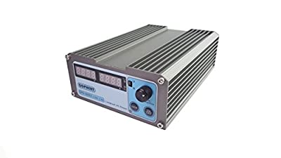GOPHERT CPS-3205II 0-32V 0-5A Portable Adjustable AC to DC Variable Switching Power Supply AC DC converter 110V/220V switchable Great for provide constant voltage or current supply.