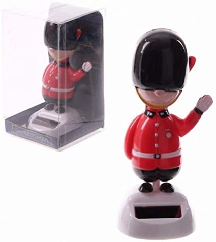 Dancing British Policeman Solar Pal Novelty Solar Powered Moving Toy Car Toy