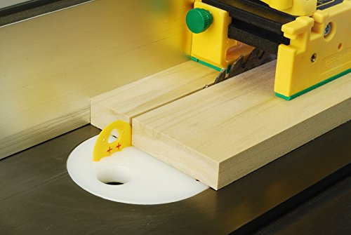 Mj splitter table saw safety splitter and riving knife alternative for zero clearance insert Table saw splitter