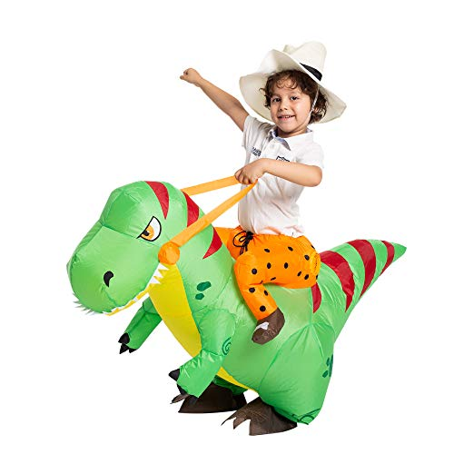 Riding A Unicorn Costumes - Spooktacular Creations Inflatable Costume Unicorn Riding