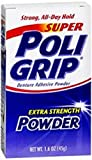 Super Poligrip Denture Adhesive Powder-1.6 oz
