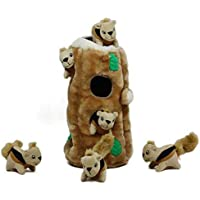 Outward Hound Interactive Puzzle Toy – Plush Hide and Seek Activity for Dogs