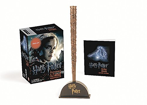 Harry Potter Hermione's Wand with Sticker Kit: Lights Up! (RP Minis) (Hermione Granger Harry Potter And The Deathly Hallows)