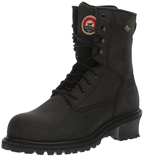 Irish Setter Work Men's Mesabi Steel Toe 83836 Boot, Black, 13 D US