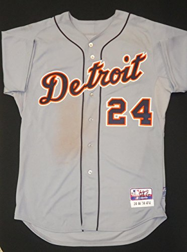 Miguel-Cabrera-Game-Used-2014-Road-Jersey-Autographed-and-Inscribed-MLB-Game-Used-Jerseys
