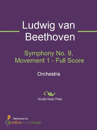 Symphony No. 9, Movement 1 - Full Score