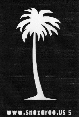 Palm Tree Stencil Snazaroo Face Painting Stencil
