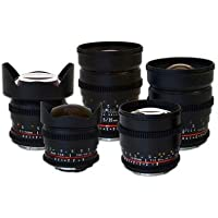 Rokinon 5 Lens Kit For Nikon, Bundle. #ROKINON 5 KITNK