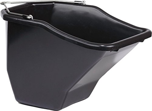 Little Giant Plastic Better Bucket, 20-Quart, Black