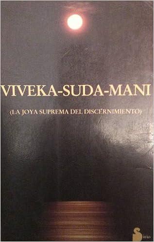 Ebook versión completa descarga gratuita VIVEKA-SUDA-MANI (Ant. Ed.) 8486221870 PDF PDB