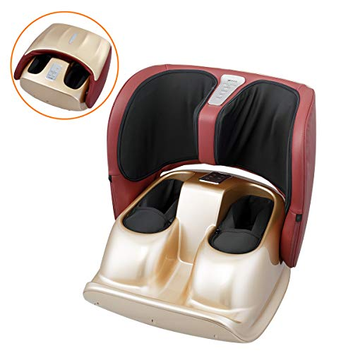 Latest Foot Massager Foot Massager Machine with Heat,Foldable Kneading Foot Massage for Blood Circulation with Remote Control 2019