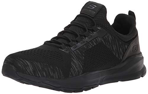 Skechers USA Men's Men's Revlen-Renton Sneaker,12 M US,black/black