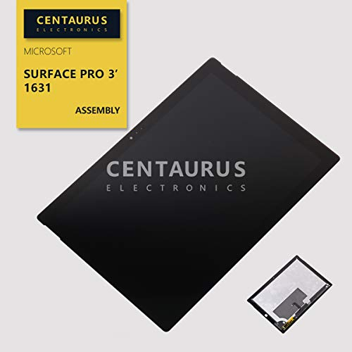 CENTAURUS Replacement for Microsoft Surface Pro 3 Assembly, LCD Display Touch Screen Digitizer Part Compatible with Microsoft Surface Pro 3 (1631) LTL120QL01 V1.1 12.0 inch