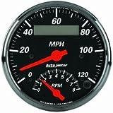 Auto Meter 1481 3-3/8IN D/B TACH/SPEEDO