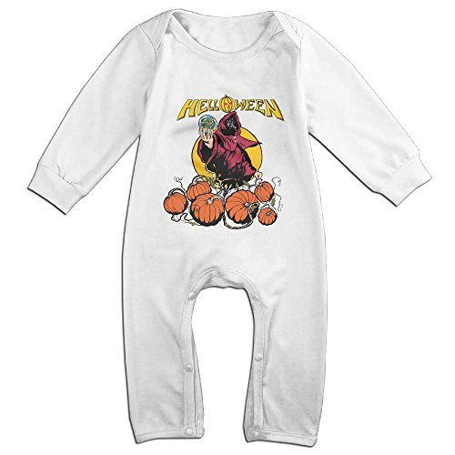 Cute Helloween Band Outfits For Infant White Size 18 Months