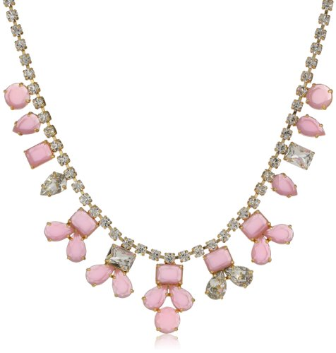 Kate Spade New York Secret Garden Candy Pink Necklace, 16