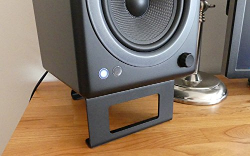 Amazon Com Desktop Speaker Stand Pair Everything Else