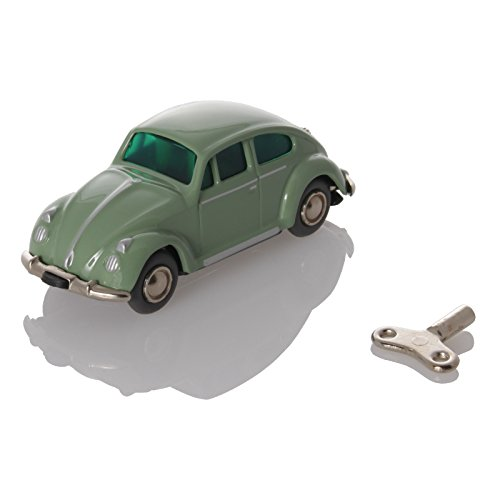 Schuco Tin Toys (Schuco MicroRacer VW Beetle resedgreen - Mechanical Tin Toy)
