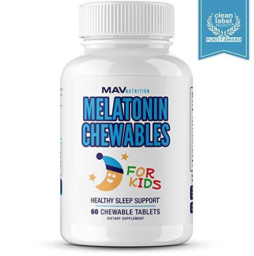 MAV Nutrition Melatonin Chamomile Vegetarian