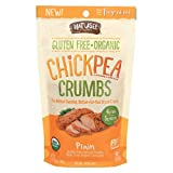 Watusee Foods Chickpea Breadcrumbs - Organic - Plain - Case of 10-7 oz