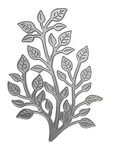 Cutting Dies,Pollyhb (Flower, 6 Set) New Metal Cutting Dies Stencils Scrapbooking Embossing DIY Crafts,Scrapbook Album,for Card Making (E) - Phrase Scrapbook Die Cut