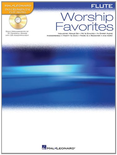 Worship Favorites: Instrumental Play-Along for Flute