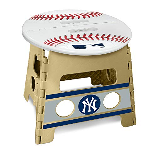 (MLB New York Yankees Folding Step Stool )