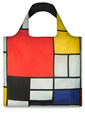 LOQI Composition Reusable Shopping Bag