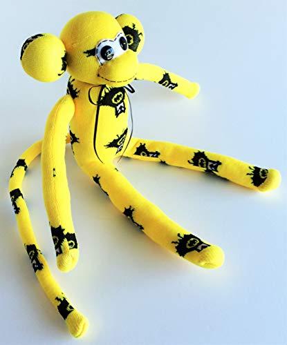 dc89c184a6e Batman Themed Sock Monkey - Batman - Yellow Sock Monkey - Super Hero Sock  Monkey -