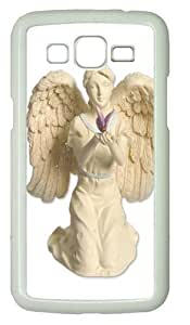 Samsung Grand 7106 Case,Butterfly Dreams Platinum Angel Figurine Polycarbonate Hard Case Back Cover for Samsung Grand 2/7106 White