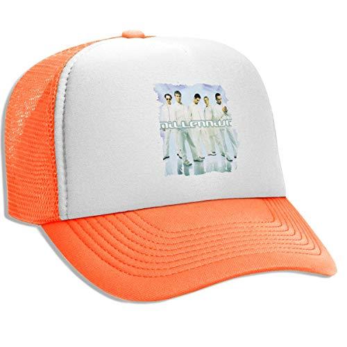 Millennium Ball - FKOGG Men/Women Backstreet Boys Millennium Logo Cap, Breathable Mesh Ball Cap Outdoor Sun Hats Beanies Orange