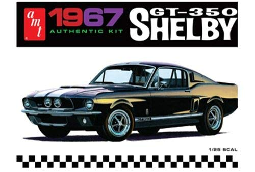 AMT 1967 Ford Shelby GT350 1/25 Scale Plastic Model Kit Black from AMT Ertl