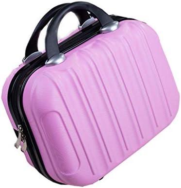 EMATU 1DD1T Kulturbeutel, Mini Travel Box Make-up Fällen Wasserdicht Reisetaschen Bad-Accessoires Veranstalter Toilettentasche Komfort Design ABS/PC Material Geschenke