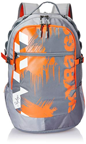 Skybags Crew 06 33 Ltrs Grey Laptop Backpack (Crew 06)