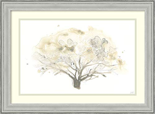 Framed Wall Art Print Neutral Arbor II by June Erica Vess 26.75 x 19.62