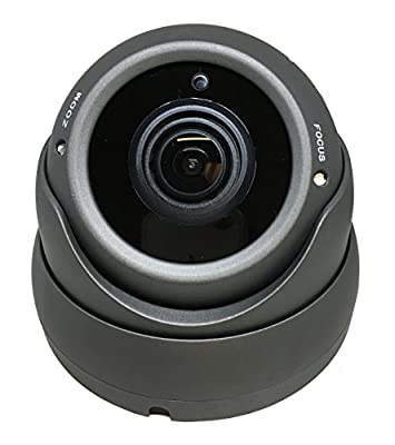 101AV 1080P True Full-HD Security Dome Camera 2.8-12mm Variable Focus Lens 2.4Megapixel STARVIS Image Sensor IR In/Outdoor WDR OSD works w/1080P TVI 1080P AHD 1080P CVI & standard recorder only by 101 Audio Video Inc.