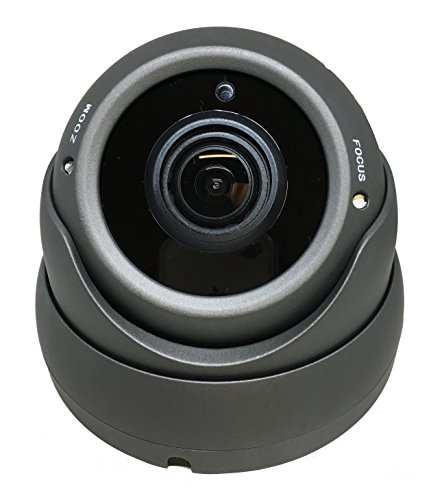 101AV 1080P True Full-HD Security Dome Camera 2.8-12mm Variable Focus Lens 2.4Megapixel STARVIS Image Sensor IR in/Outdoor WDR OSD Works w/ 1080P TVI 1080P AHD 1080P CVI & Standard Recorder only