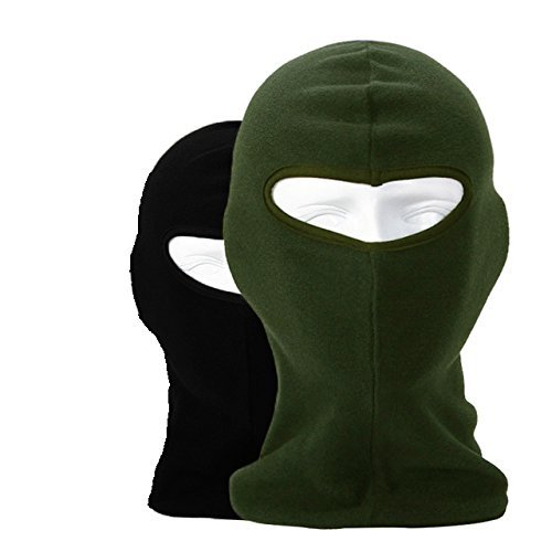 Add-gear Fleece Balaclava Outdoor Insulated Military Style Reversible Thermal Polar Fleece Face - Thermal Reversible
