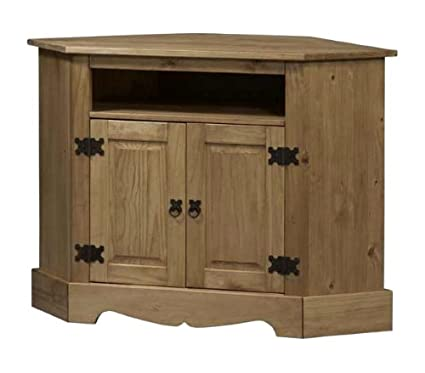 Linon Santa Fe Corner Tv Cabinet