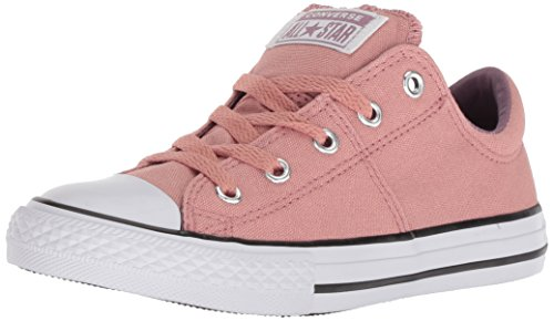 Converse Girls' Chuck Taylor All Star Madison Sneaker, Pink/Milk, 7 M US Toddler