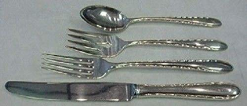 Silver Flutes By Towle Sterling Silver Regular Size Place Setting(s) 4pc