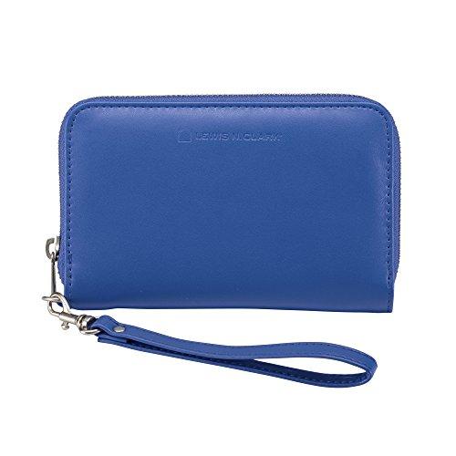 Lewis N. Clark Women's Shetravels RFID-Blocking Wristlet, Royal Blue