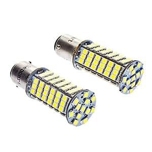 GDW 1142 5W 102x3528SMD 360LM 6000-6500K Luz Blanca Blub LED para el coche (12V DC)