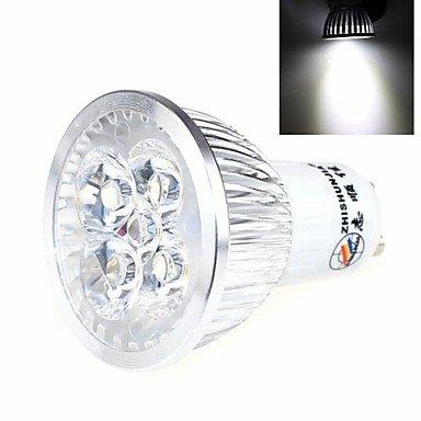 Bombilla LED ZHISHUNJIA GU10 5 W 5 x LED 400 lm 6000 K luz blanca LED
