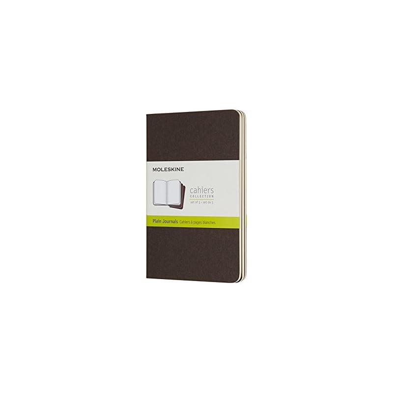 Moleskine Cahier Pocket Plain Coffee Bro